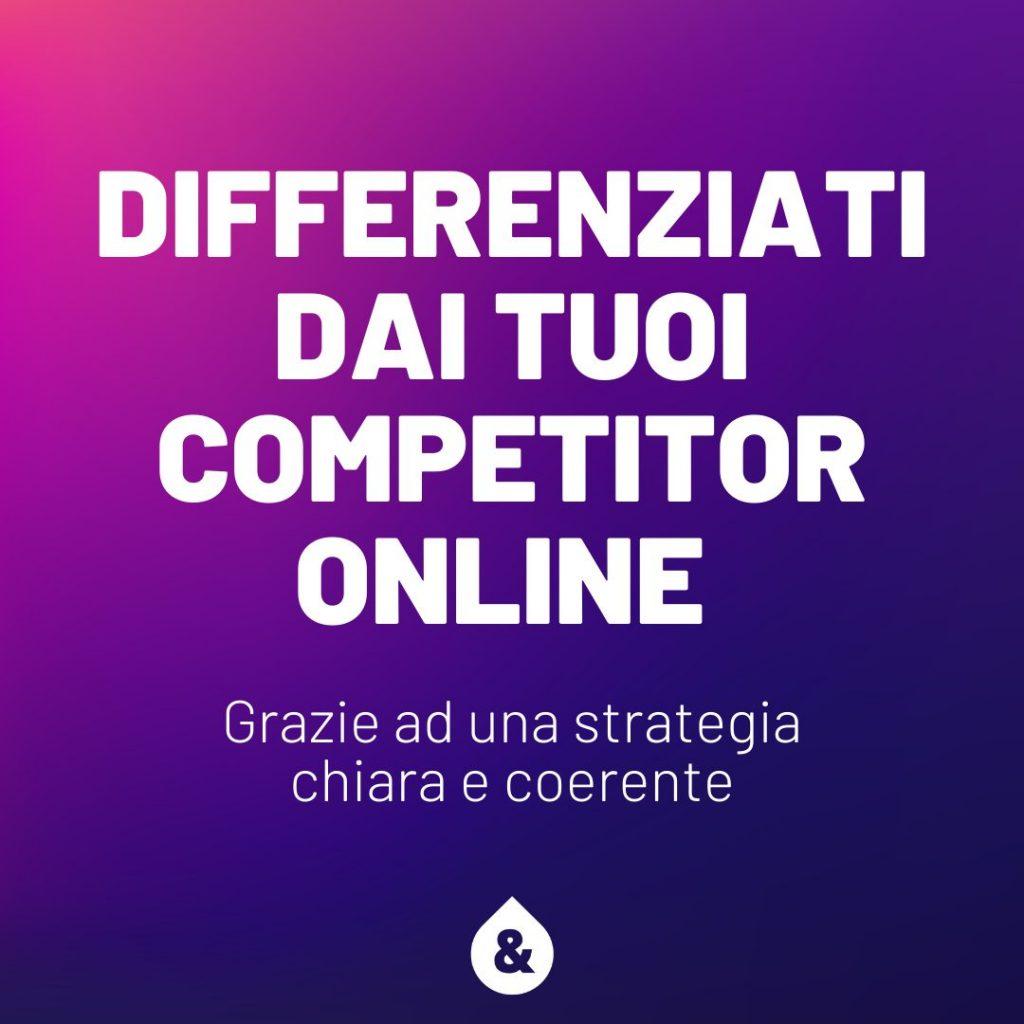 distinguersi dai competitors online